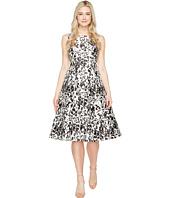 Adrianna Papell - Sleeveless Print Mikado Party Dress