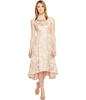Adrianna Papell - Metallic Jacquard Fit & Flare Dress