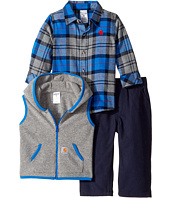 Carhartt Kids - Flannel Three-Piece Gift Set (Infant)