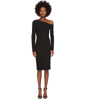 YIGAL AZROUËL - 3/4 Sleeve One Shoulder Fitted Dress