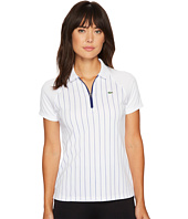 Lacoste - Short Sleeve Stripe Printed Ultra Dry Pique Polo