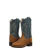 Old West Kids Boots - Broad Round Toe (Toddler/Little Kid)