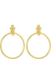 LAUREN Ralph Lauren - Door Knocker Clip Earrings