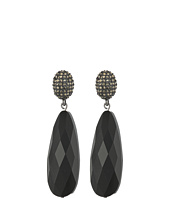 LAUREN Ralph Lauren - Pyrite Pave Post with Long Teardrop Earrings