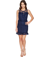 ROMEO & JULIET COUTURE - Ruffle Waist Lace Dress