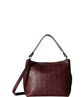 MCM - Klara Monogrammed Leather Medium Hobo