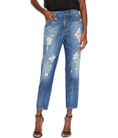 Versace Jeans - Distressed Boyfriend Light Wash Jeans