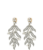 Oscar de la Renta - Hammered Leaves C Earrings
