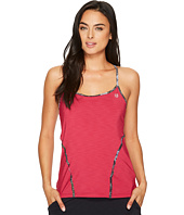 Eleven by Venus Williams - Floral Brocade Glide Back Tank Top