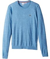 Lacoste Kids - Long Sleeve Crewneck Sweater (Toddler/Little Kids/Big Kids)