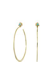 Vera Bradley - Triangle Hoop Earrings