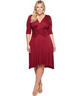 Kiyonna - Refined Ruched Dress