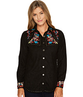 Scully - Anaya Beautfully Embroidered Studded Top
