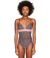 Kate Spade New York - Coronado Beach #61 Triangle One-Piece Swimsuit w/ Removable Soft Cups