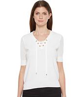 Ivanka Trump - Short Sleeve Sweater