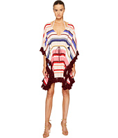 Kate Spade New York - Miramar Beach #59 Kaftan Cover-Up w/ Tassels