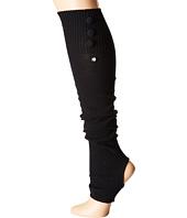 toesox - Rae Leg Warmer Button Up-Open Heel