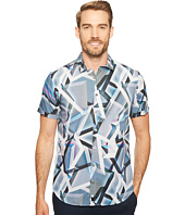 Calvin Klein - Multicolor Abstract Print Button Down Shirt