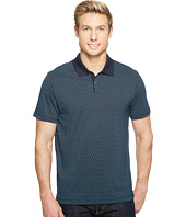 Calvin Klein - All Over Printed CK Logo Polo Shirt