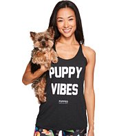 Puppies Make Me Happy - Puppy Vibes - Racerback Tank Top
