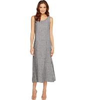 TWO by Vince Camuto - Cross-Dye Linen Side Slit Tank Dress