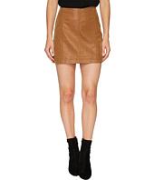 Free People - Modern Femme Vegan Suede Mini Skirt