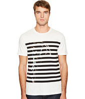 Versace Collection - Stripe Detail T-Shirt
