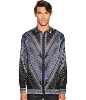 Versace Collection - Silk Tassel Print Button Down