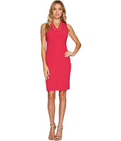 Adrianna Papell - Cut Out Neckline Seamed Sheath Dress