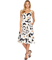 Adrianna Papell - Lily Floral Fit and Flare Dress