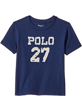 Ralph Lauren Baby - 30/1 Slub Jersey Short Sleeve Crew Neck Top (Infant)