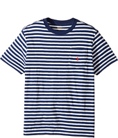 Polo Ralph Lauren Kids - Yarn-Dyed Slub Jersey Pocket Tee (Big Kids)