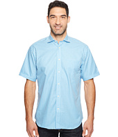 Thomas Dean & Co. - Short Sleeve Gingham Check Sport Shirt