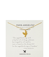 Dogeared - Maya Angelou: The Caged Bird Sings Necklace