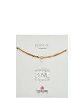 Dogeared - Heavy Curbed Chain w/ Pearl Bracelet