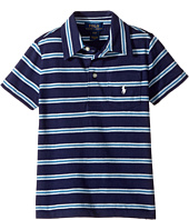 Polo Ralph Lauren Kids - Yarn-Dyed Slub Jersey Cut Top (Toddler)