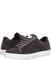 MCM - Suede Low Top Lace-Up Sneakers