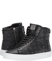 MCM - Logo Lace-Up Turnlock Sneakers