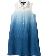 Polo Ralph Lauren Kids - Linen Dip-Dye Dress (Little Kids)