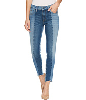 Mavi Jeans - Tess High-Rise Super Skinny Ankle in Mid Shaded Blocking Gold Icon