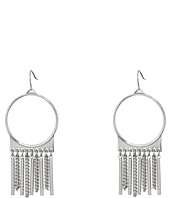 Steve Madden - Ring with Chain Fringe Fish Hook Earrings