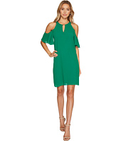 Vince Camuto - Chiffon Cold Shoulder Float Dress
