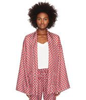 The Kooples - Kimono En Soie Style Pyjama Imprime