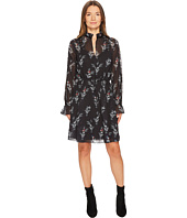 The Kooples - Robe a Manches Longues Imprimee Rossignol En Polyester
