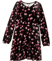Ella Moss Girl - Priscilla Printed Velour Dress (Big Kids)