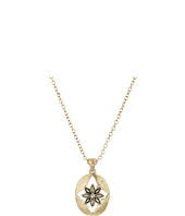 The Sak - Floral Oval Pendant Necklace 16