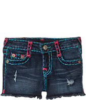 True Religion Kids - Bobby Raw Edge Shorts (Big Kids)