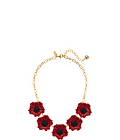Kate Spade New York - Precious Poppies Necklace