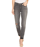 NYDJ - Girlfriend Jeans w/ Knee Slit in Future Fit Denim in Alchemy