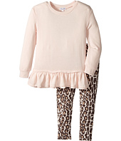 Splendid Littles - Animal Printed Leggings with Light Pink Top (Little Kids)